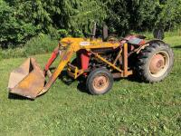Ferguson TO35 Deluxe Tractor with Freeman Loader, 6,584 hours, S/N - SGM 189072 - 2