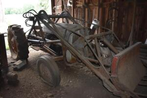 Ford Jubilee Gas Tractor with Loader- Not Running