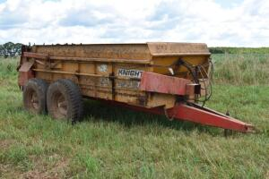Knight 350SS Manure Spreader- S/N 1357- 1 Owner, Stored Inside