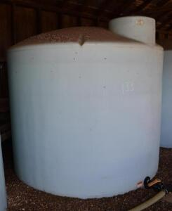 2500 Gallon Poly Tank