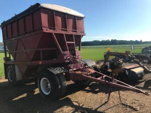 V Bottom Gravel-Grain Trailer