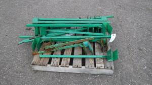 LOT OF PALLET RACK HANGING TOOL BRACKETS