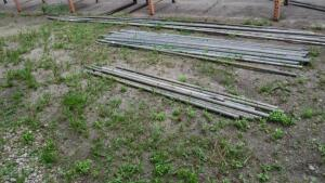 LARGE LOT OF GALVANIZED PIPE