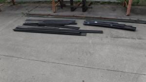 LOT OF LAWN EDGING, STEEL, ALUMINUM, BLACK DIAMOND