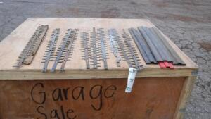 LOT OF NEW HEDGE TRIMMER BLADES