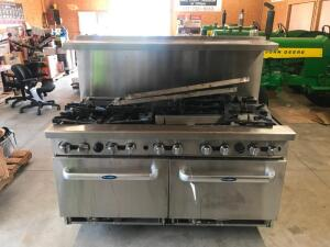 "Intertek 60"" Gas Restaurant Range"