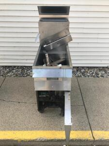 Pitco Frialator Gas Deep Fryer