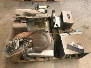 (2) Meat Slicers, (2) Toasters