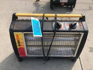 Work Zone Electric Heater