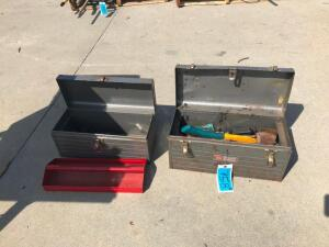 (2) Toolboxes with Tools