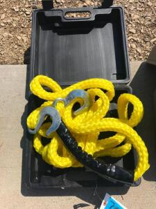 Tow Rope with 2 Hooks