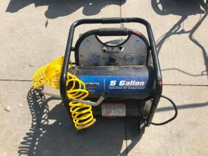 5 gal. Twin Tank Air Compressor