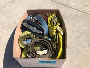 "Box of 2"" Ratchet Straps"