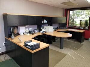 Lacasse Office Furniture 2 position workstation