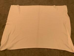 "(12) 60"" x 70"" polypropylene press cloths"