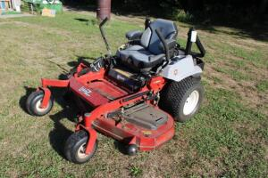 "Exmarc 60"" LazerZ zero turn mower with 370.6 hours"