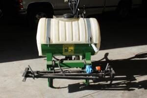 3 point hitch boom sprayer 55 gallon tank