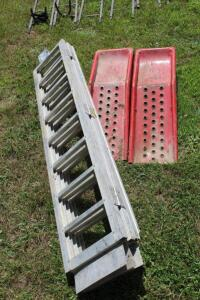 Aluminum Folding Ramp and Ramp Set