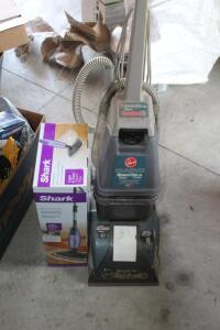 Carpet Cleaner and Shark floor cleaner