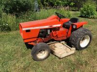 Allis Chalmers 616 with belly mower, motor is free but not running - 2