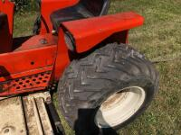 Allis Chalmers 616 with belly mower, motor is free but not running - 3