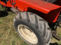 Allis-Chalmers 620 with belly mower and rear rototiller, motor free but not running - 6