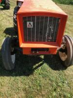 Allis-Chalmers 620 with belly mower and rear rototiller, motor free but not running - 8