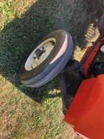 Allis-Chalmers 620 with belly mower and rear rototiller, motor free but not running - 9
