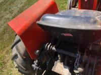 Allis-Chalmers 620 with belly mower and rear rototiller, motor free but not running - 13
