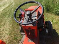 Allis-Chalmers 620 with belly mower and rear rototiller, motor free but not running - 14