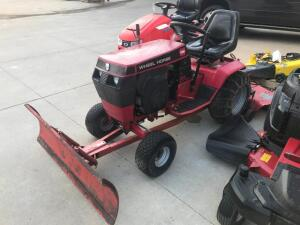 "Wheel Horse 312-8 42"" Mower with 48"" Snow Blade"