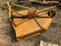 Woods M5 Rotary Mower, 5' wide