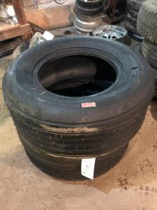 Pair of New 11L-15SL Implement Tires with tubes