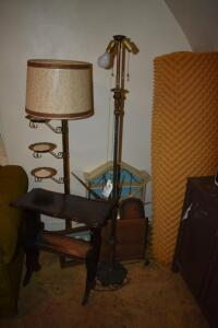 Floor Lamps, Side Table, Clock and More