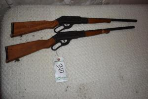 (2) Lever Action Cork Toys