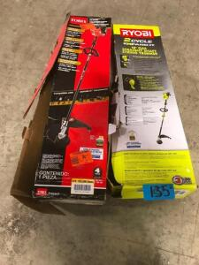 (2) Straight Shaft String Trimmers
