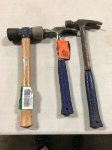 (2) Hammers and Sledge Hammer