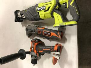 (2) Drills and Saw