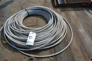 plastic coated cable