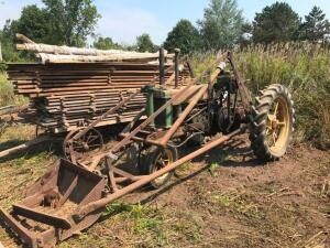 1936 John Deere B with Front End Loader