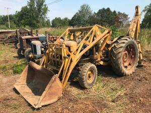 Fordson Major Diesel Backhoe Loader