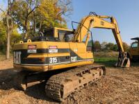 CAT 315L Excavator, has claw on arm, 11,381 hours, S/N - 8YY01640 - 3
