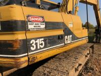 CAT 315L Excavator, has claw on arm, 11,381 hours, S/N - 8YY01640 - 4