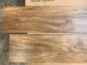 Approx 206 Sq Ft Flooring Luxury Vinyl Plank Glue Down