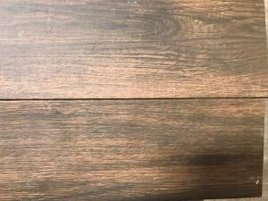 Approx 185 Sq Ft Porcelain Floor/Wall Tile - Autumn Wood