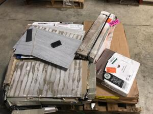Pallet of Assorted Flooring
