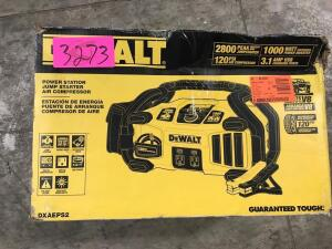 Dewalt Power Station/Jump Starter/Air Compressor