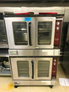 (2) Southbend Ovens - top oven needs repair
