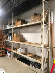 Storage Racking with Contents