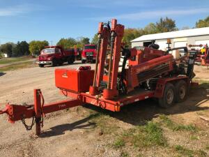 1997 Ditch Witch JT920 Directional Boring Machine on 14' Tandem Trailer